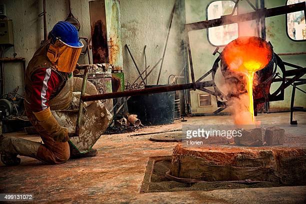 Bronze Casting in Italy.