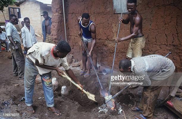 Bronze Castors Nigeria Benin City