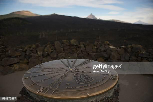 Bronze compass