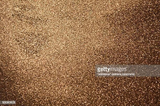 Bronze glitter texture