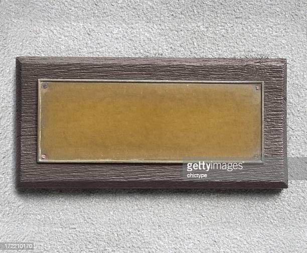 Placa de Bronze