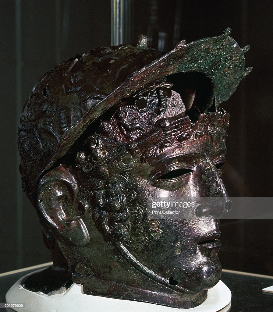 cavalry sports helmet roman britain late 1st or early 2nd