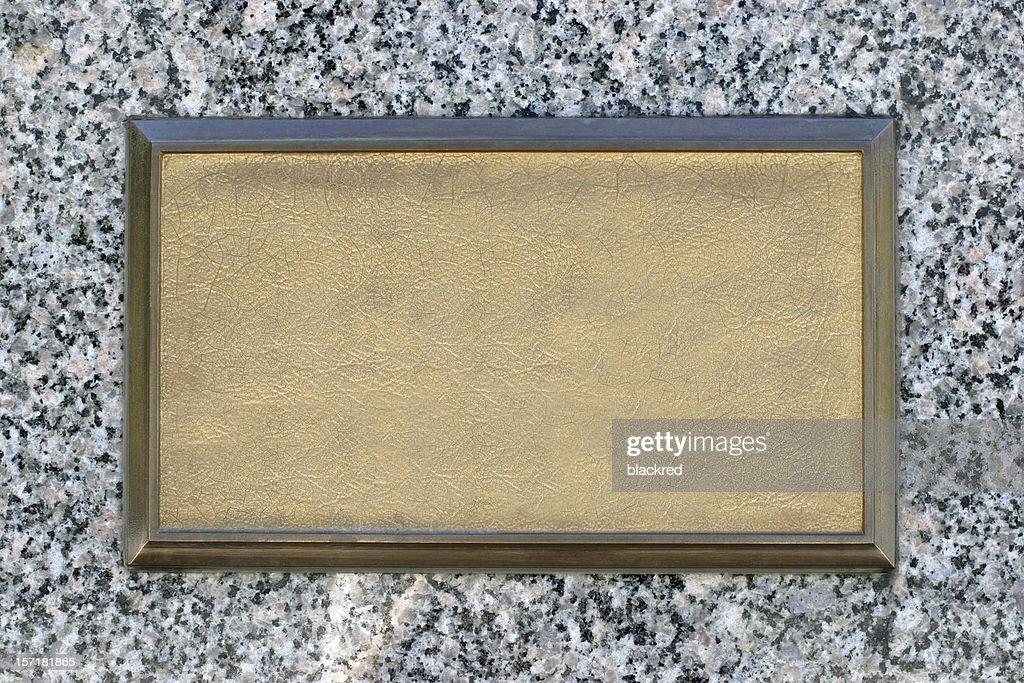 Bronze Signage
