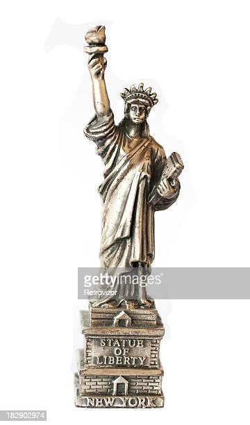 Freiheitsstatue in New York (souvenir).