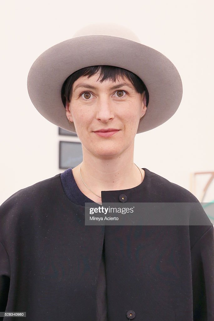 Brook Lane attends the 2016 Frieze Art Fair: New York at Randall's Island on May 4, 2016 in New York City.