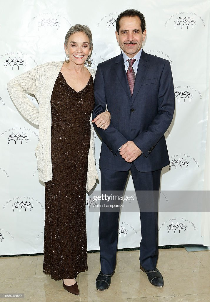 Brooke Adams and Tony Shalhoub attend 2012 New York Stage And Film Winter Gala at The Plaza Hotel on December 9, 2012 in New York City.