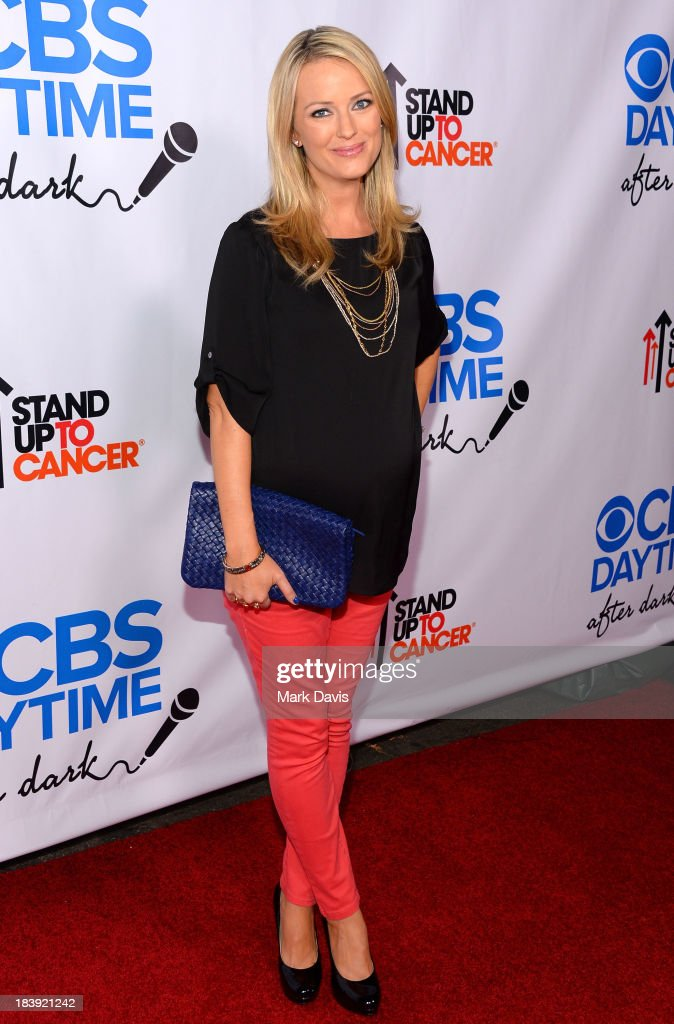 Brooke Anderson attends 'CBS Daytime After Dark' at The Comedy Store on October 8, 2013 in West Hollywood, California.
