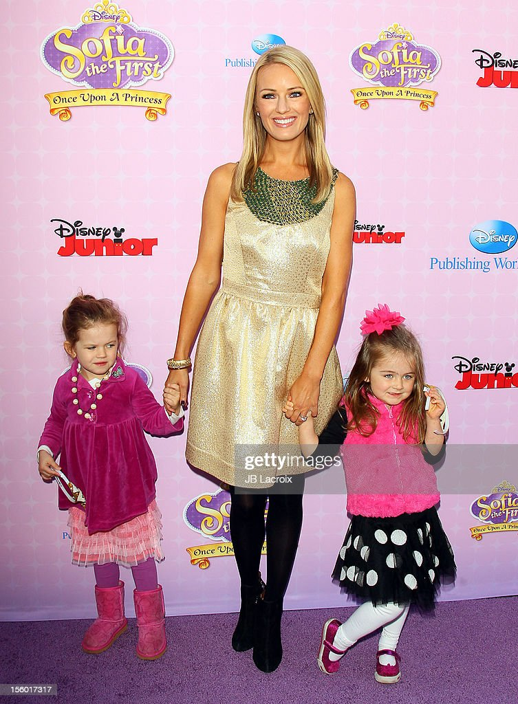 Brooke Anderson attends the premiere of Disney Channels' 'Sofia The First: Once Upon a Princess' at Walt Disney Studios on November 10, 2012 in Burbank, California.