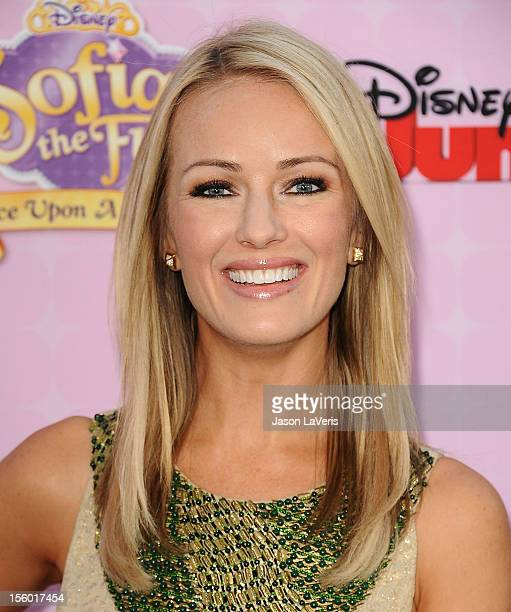 Brooke Anderson attends the premiere of 'Sofia The First Once Upon a Princess' at Walt Disney Studios on November 10 2012 in Burbank California