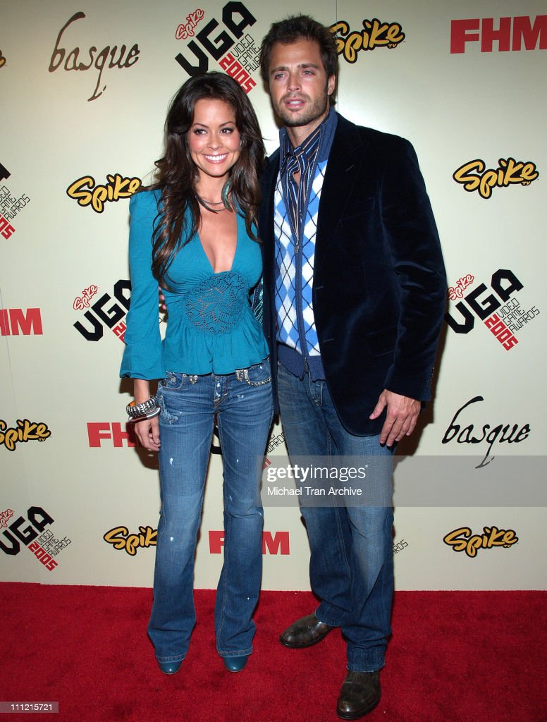 Brooke Burke and David Charvet during 2005 Spike TV Video Game Awards Party Hosted by FHM and SpikeTV Arrivals at Basque in Hollywood California...