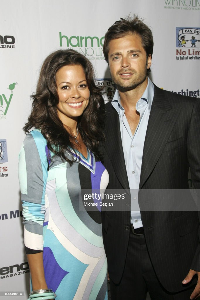 Brooke Burke and David Charvet during Harmony with No Limits Premiere Gala Presented by Washington Mutual April 21 2006 at Skirball Cultural Center...