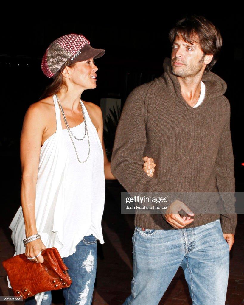 Brooke Burke and David Charvet sighting on June 20 2009 in Malibu Los Angeles California