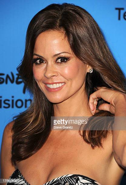 Brooke Burke arrives at the 2013 Television Critics Association's Summer Press Tour Disney/ABC Party at The Beverly Hilton Hotel on August 4 2013 in...