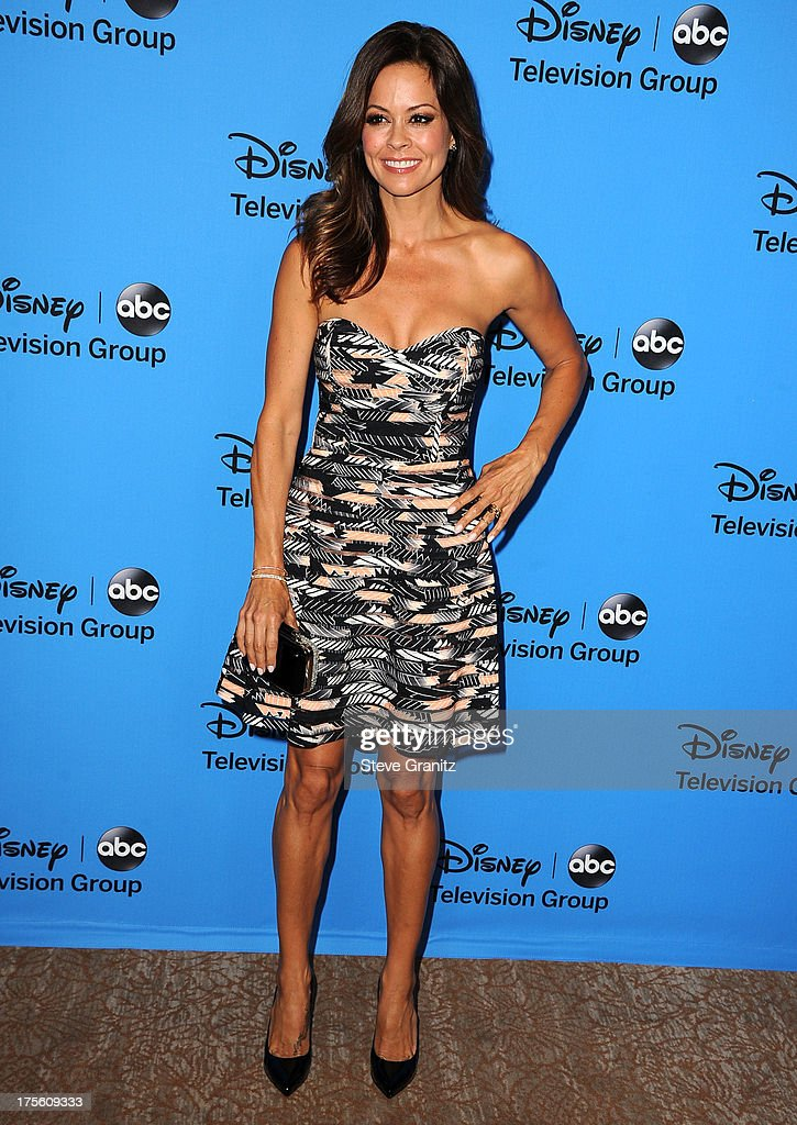 Brooke Burke arrives at the 2013 Television Critics Association's Summer Press Tour - Disney/ABC Party at The Beverly Hilton Hotel on August 4, 2013 in Beverly Hills, California.