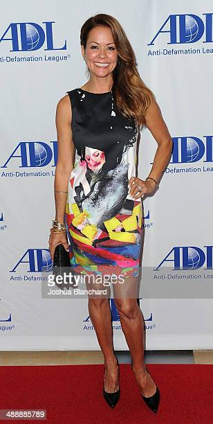 Brooke Burke arrives at the AntiDefamation League Honors Roma Downey And Mark Burnett at The Beverly Hilton Hotel on May 8 2014 in Beverly Hills...
