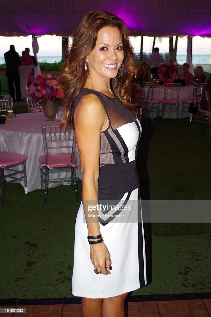 <a gi-track='captionPersonalityLinkClicked' href=/galleries/search?phrase=Brooke+Burke&family=editorial&specificpeople=203216 ng-click='$event.stopPropagation()'>Brooke Burke</a> attends An Evening With <a gi-track='captionPersonalityLinkClicked' href=/galleries/search?phrase=Brooke+Burke&family=editorial&specificpeople=203216 ng-click='$event.stopPropagation()'>Brooke Burke</a> For BRA Day 2013 at Acqualina Resort & Spa on October 16, 2013 in Miami Beach, Florida.