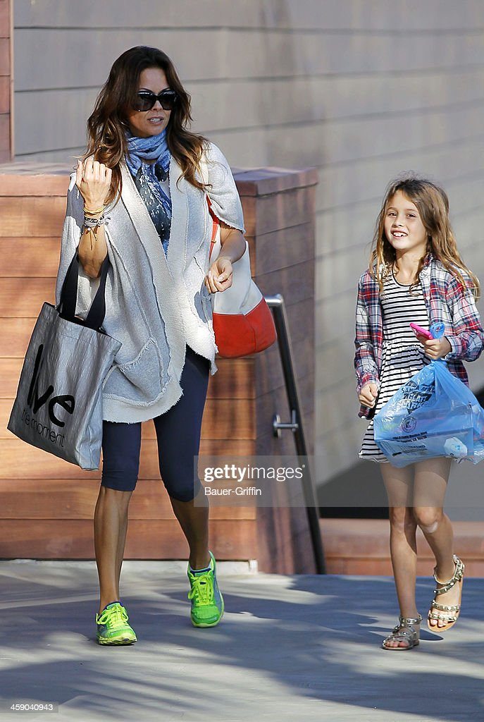<a gi-track='captionPersonalityLinkClicked' href=/galleries/search?phrase=Brooke+Burke&family=editorial&specificpeople=203216 ng-click='$event.stopPropagation()'>Brooke Burke</a> Charvet and her daughter, <a gi-track='captionPersonalityLinkClicked' href=/galleries/search?phrase=Heaven+Rain+Charvet&family=editorial&specificpeople=5380961 ng-click='$event.stopPropagation()'>Heaven Rain Charvet</a>, are seen shopping in Malibu on December 22, 2013 in Los Angeles, California.