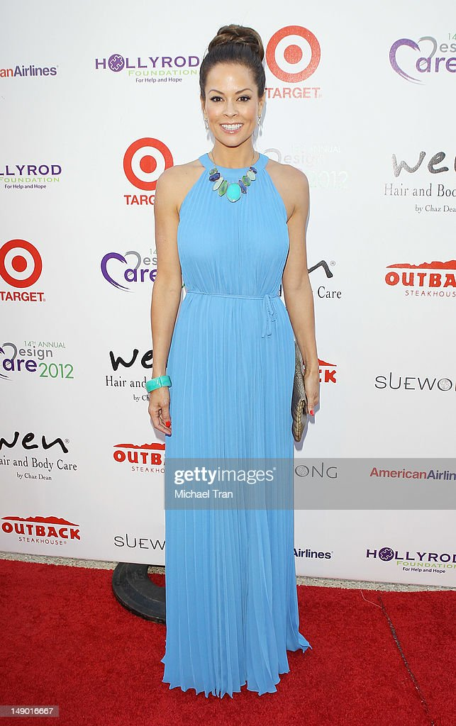Brooke Burke Charvet arrives at the 14th Annual DesignCare to benefit the HollyRod Foundation held on July 21 2012 in Malibu California