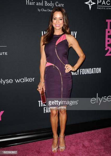 Brooke Burke Charvet attends the 2013 Pink Party at Hangar 8 on October 19 2013 in Santa Monica California