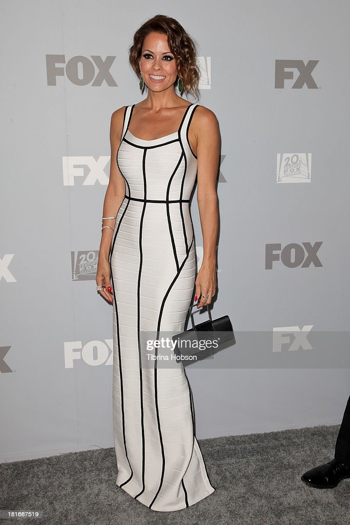 Brooke Burke Charvet attends the Twentieth Century FOX Television and FX Emmy Party at Soleto on September 22, 2013 in Los Angeles, California.