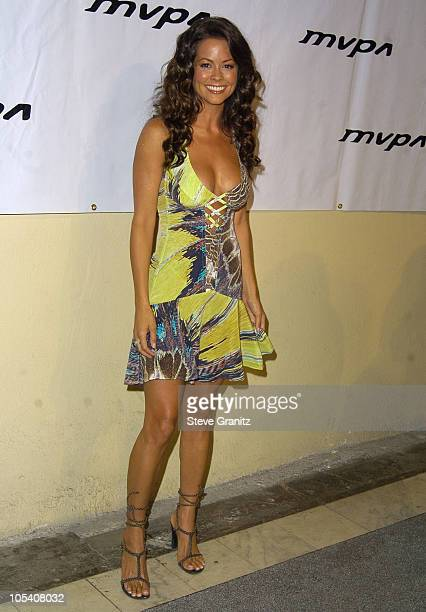 Brooke Burke during 13th Annual Music Video Production Association Awards at Orpheum Theatre in Los Angeles California United States