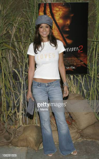 Brooke Burke during 'Jeepers Creepers 2' Hollywood Premiere at The Egyptian Theatre in Hollywood California United States