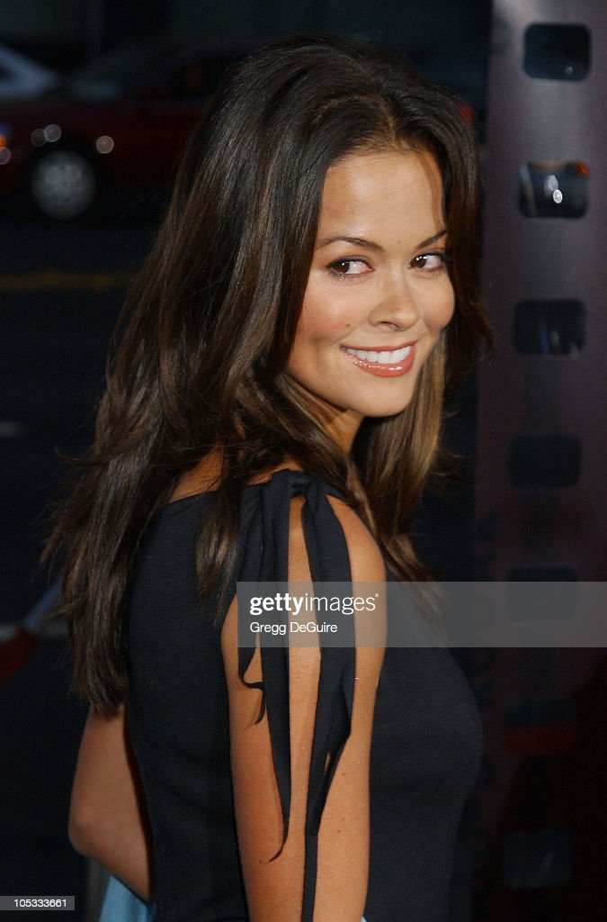 Brooke Burke during 'One Hour Photo' Premiere at Academy Theatre in Beverly Hills, California, United States.