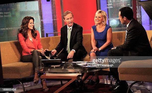 Brooke Burke visits 'Fox Friends' at FOX Studios on June 5 2013 in New York City