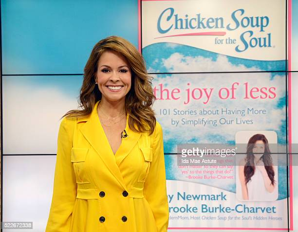 AMERICA Brooke BurkeCharset shows how to declutter your life on GOOD MORNING AMERICA 4/20/16 airing on the ABC Television Network BROOKE