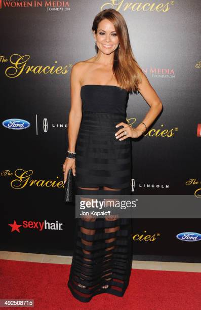 Brooke BurkeCharvet arrives at the 39th Annual Gracie Awards at The Beverly Hilton Hotel on May 20 2014 in Beverly Hills California