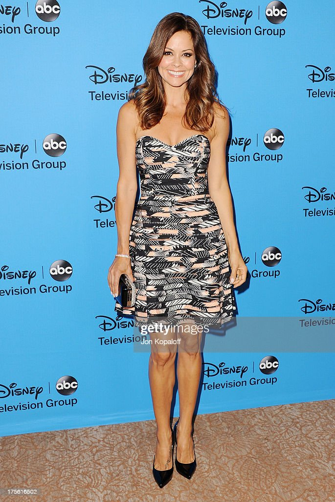 Brooke Burke-Charvet arrives at the Disney/ABC Party 2013 Television Critics Association's Summer Press Tour at The Beverly Hilton Hotel on August 4, 2013 in Beverly Hills, California.