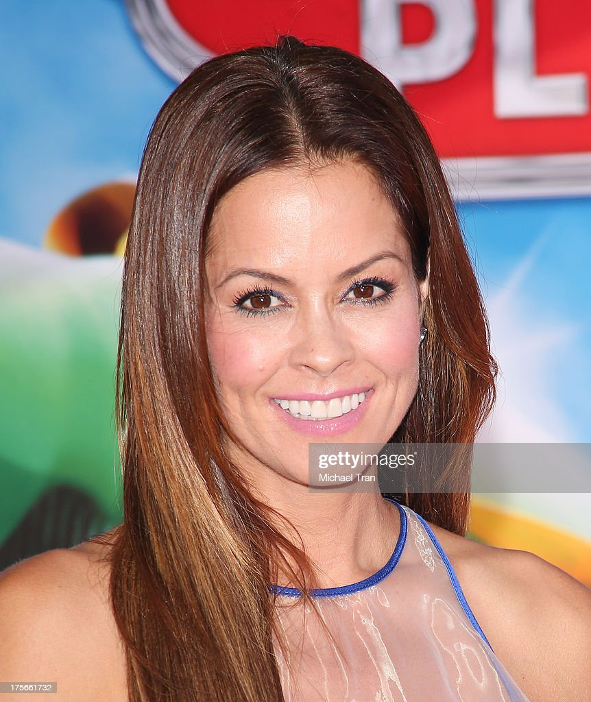 <a gi-track='captionPersonalityLinkClicked' href=/galleries/search?phrase=Brooke+Burke&family=editorial&specificpeople=203216 ng-click='$event.stopPropagation()'>Brooke Burke</a>-Charvet arrives at the Los Angeles premiere of 'Planes' held at the El Capitan Theatre on August 5, 2013 in Hollywood, California.