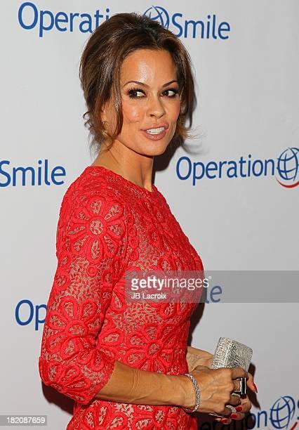 Brooke BurkeCharvet attends Operation Smile's 2013 Smile Gala held at Regent Beverly Wilshire Hotel on September 27 2013 in Beverly Hills California