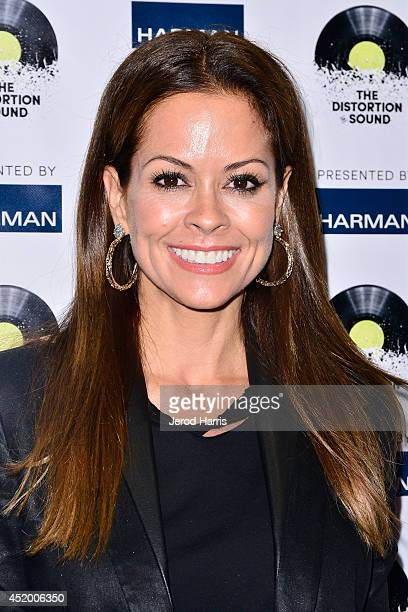 Brooke BurkeCharvet attends the Los Angeles Premiere of 'The Distortion of Sound' at The GRAMMY Museum on July 10 2014 in Los Angeles California