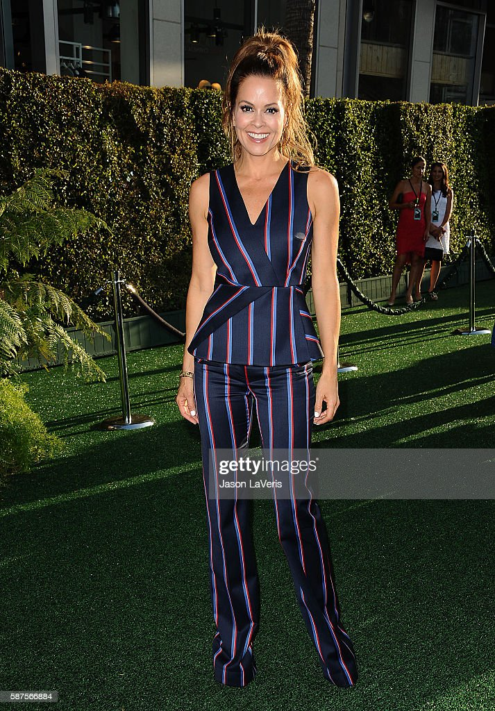 Brooke BurkeCharvet attends the premiere of 'Pete's Dragon' at the El Capitan Theatre on August 8 2016 in Hollywood California