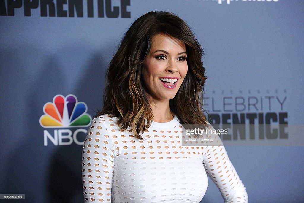 Brooke Burke-Charvet attends the press junket For NBC's 'Celebrity Apprentice' at The Fairmont Miramar Hotel & Bungalows on January 28, 2016 in Santa Monica, California.
