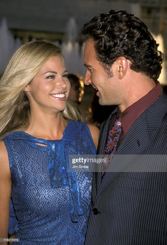 Brooke Burns and Julian McMahon during Premiere of 'Why Do ...