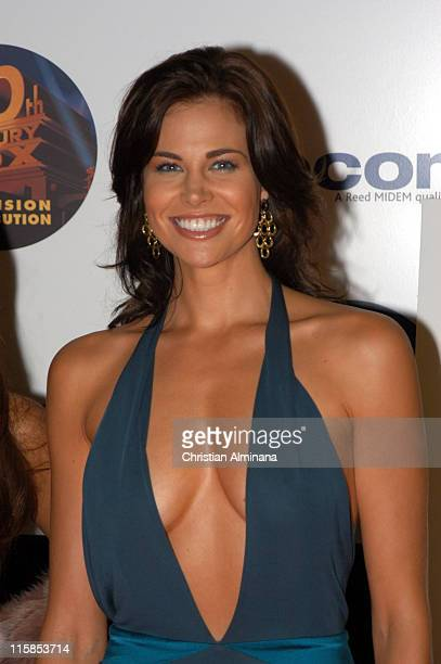 Brooke Burns during 2004 MIPCOM 20th Anniversary Party at Martinez Hotel in Cannes France
