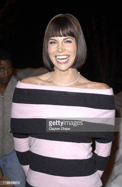 Brooke Burns during 2005 Sundance Film Festival 'The Salon' Premiere at Library Theatre in Park City Utah United States