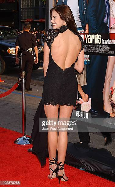 Brooke Burns during 'The Whole Ten Yards' World Premiere Arrivals at Chinese Theatre in Hollywood California United States
