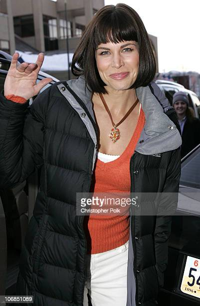 Brooke Burns in The North Face during UPP Hot House sponsored by The North Face Napapijri Hush Puppies Nautica LEE Biolage Absolut Atkins Wigwam and...