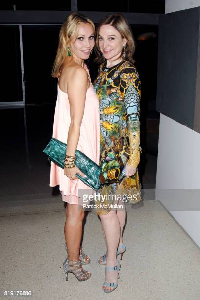 Brooke Davenport and Becca Cason Thrash attend The First Annual Benefit Hosted By Los Angeles Nomadic Division at Private Residence on July 14 2010...