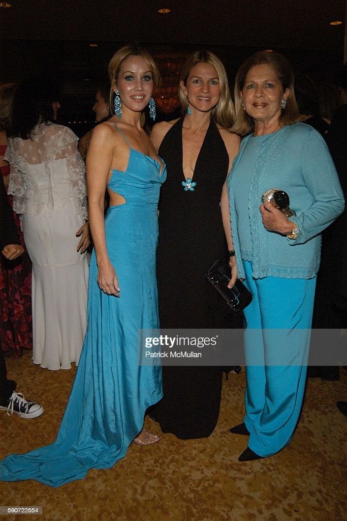 Brooke Davenport Crystal MoffettLourd and Lois Moffett attend Saks Fifth Avenue's Unforgettable Evening with Lance Armstrong honored by EIF's Women's...