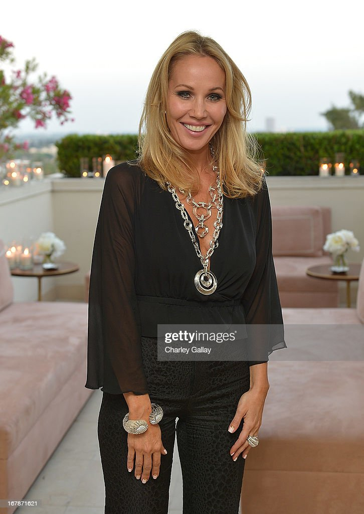 Brooke Davenport hosts the David Webb Dinner in honor of LAXART at Sunset Tower on May 1, 2013 in West Hollywood, California.