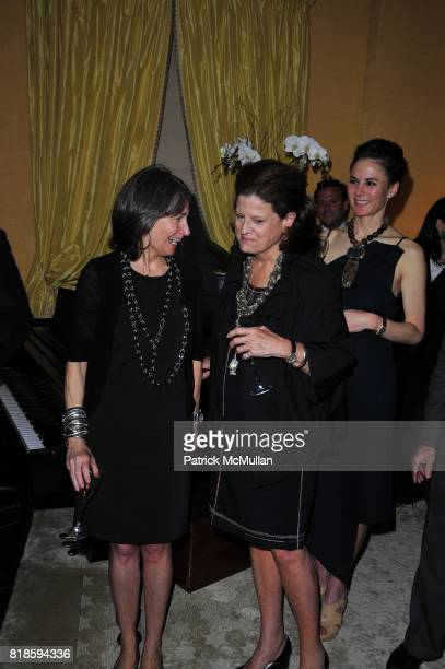Brooke Garber Naidich and Anne Keating attend Dinner party to celebrate The Child Mind Institute's 2010 Adam Jeffrey Katz Memorial Lecture Series at...
