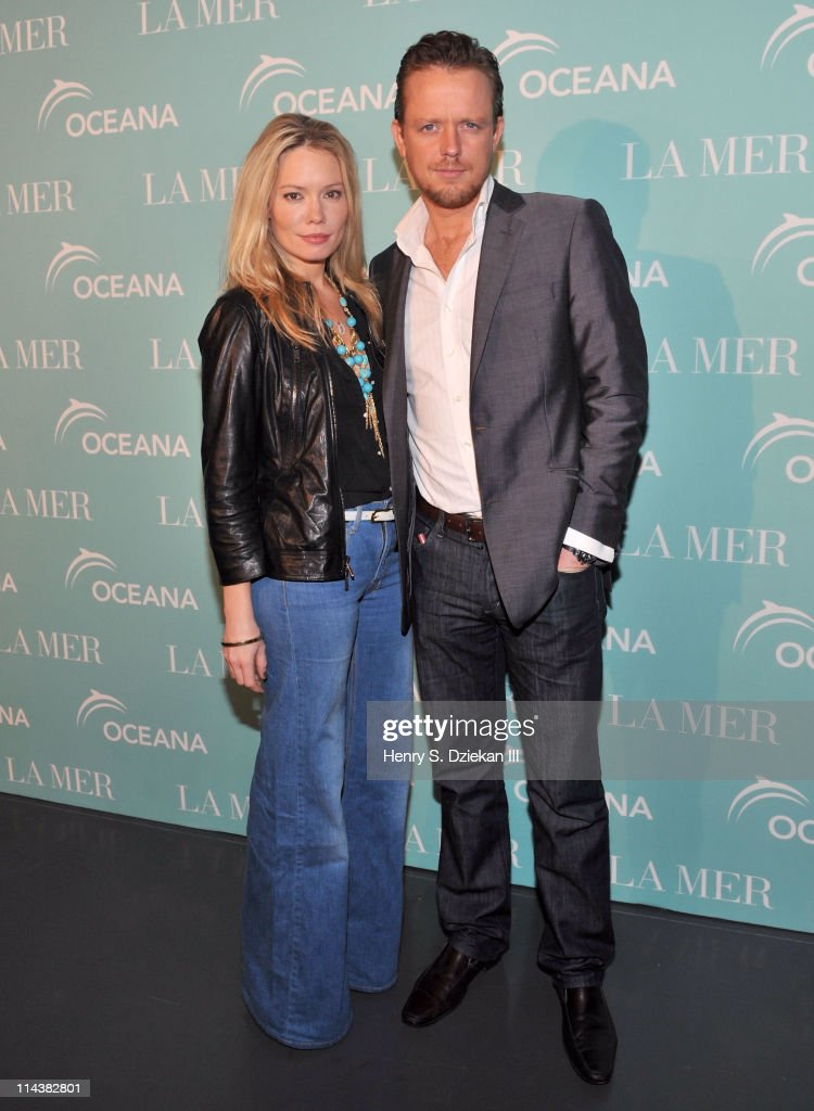 Brooke Geahan and Ed Chapman attend World Ocean Day 2011 celebrated by La Mer and Oceana at Affirmation Arts on May 18, 2011 in New York City.