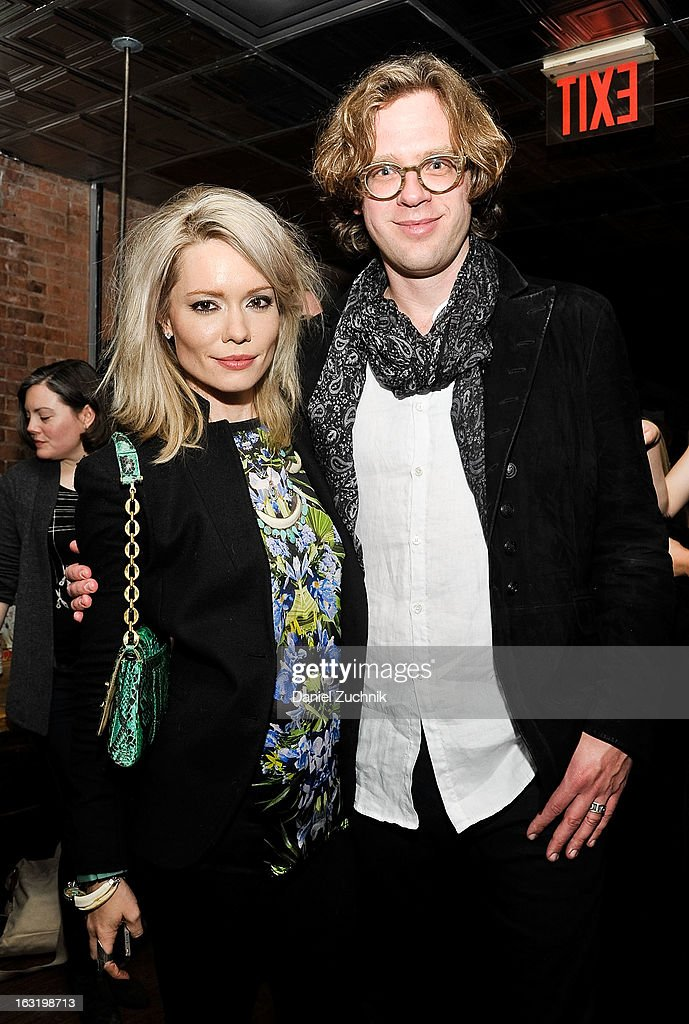 Brooke Geahan and Tom Folsom attend the 'Hopper: A Journey Into the American Dream' book launch on March 5, 2013 in New York City.