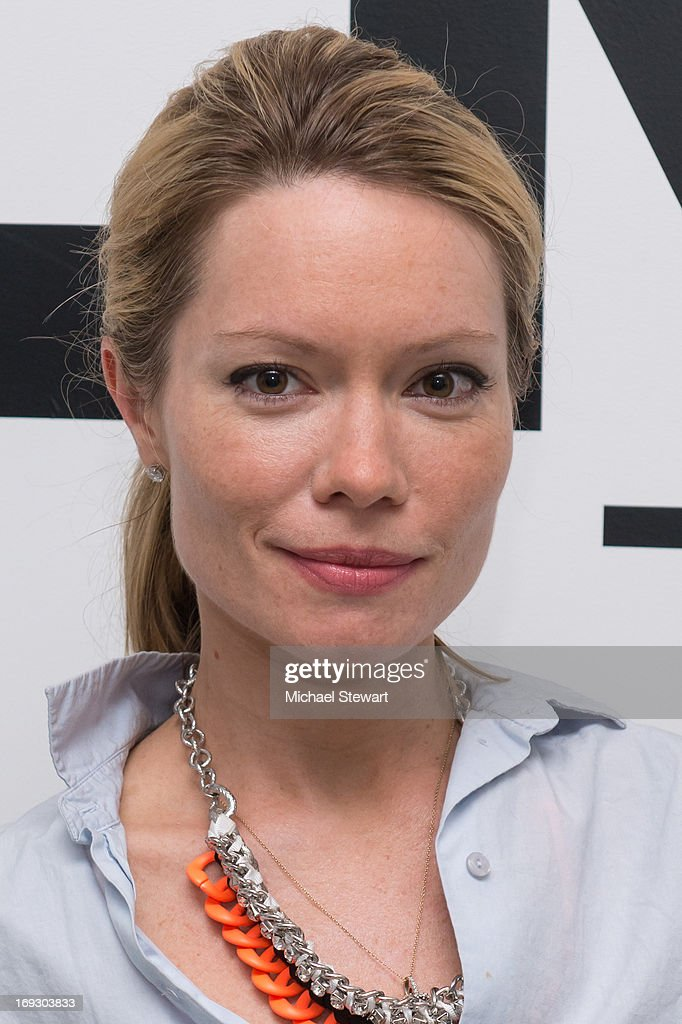 Brooke Geahan attends the Fierce Creativity Art Exhibition Reception at The Flag Art Foundation on May 22, 2013 in New York City.