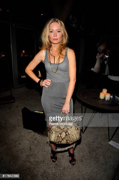Brooke Geahan attends Young Lions of the New York Public Library and Benedictine Secret Society toast ALCHEMISTS of our age at Private Residence on...