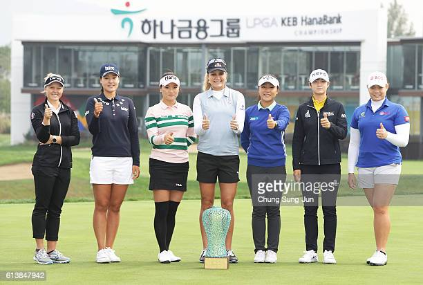Brooke Henderson of Canada InGee Chun of South Korea SoYeon Ryu of South Korea Lexi Thompson of United States Lydia Ko of New Zealand SungHyun Park...